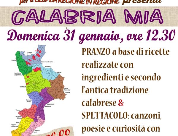 """""""Da Ragione in Regione"""": CALABRIA MIA"""